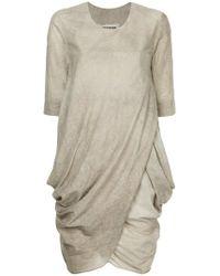 Uma Wang - Short-sleeve Short Dress - Lyst