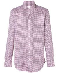 Etro - Embroidered Fitted Shirt - Lyst
