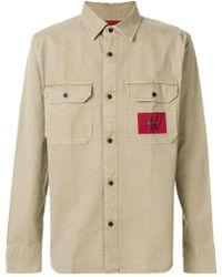 Calvin Klein Jeans   Patch Pocket Shirt   Lyst