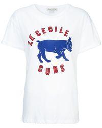 Être Cécile - Camiseta con estampado Cubs - Lyst