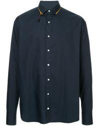 Kolor - Camisa con cuello en contraste - Lyst