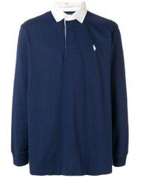 Polo Ralph Lauren - Рубашка-поло С Контрастным Воротником - Lyst