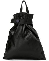 bc0ad6d9347f Sophie Hulme Mini  wilson  Backpack in Black - Lyst