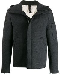 Transit Fitted Jacket - Gray