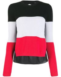 Armani Exchange - Tri-colour Knot Jumper - Lyst