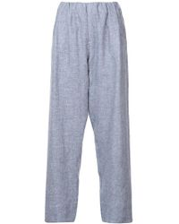 Stephan Schneider - Manner Wide Leg Cropped Trousers - Lyst
