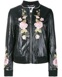 Blumarine - Embroidered Floral Jacket - Lyst