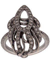 Loree Rodkin - 18kt Gold Phoenix Pinky Ring - Lyst