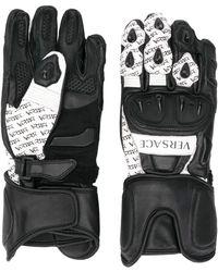 Versace Logo gloves - Noir