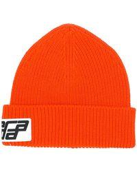 Prada - Logo Beanie Hat - Lyst