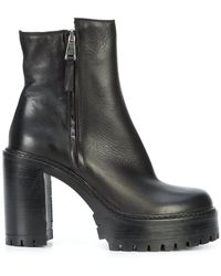 Chuckies New York - Chunky Ankle Boots - Lyst