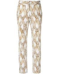 Andrea Marques - Cropped Trousers - Lyst