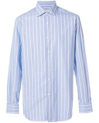 Kiton - Striped Shirt - Lyst