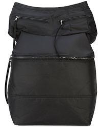 Rick Owens - One Shoulder Messenger Backpack - Lyst