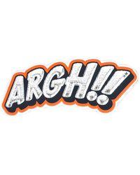 Anya Hindmarch - Argh!!! Sticker - Lyst