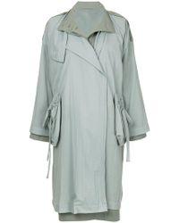 Nehera - Layered Mid-length Coat - Lyst