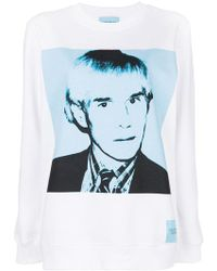 Calvin Klein - Andy Warhol Print Sweatshirt - Lyst