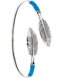 Gas Bijoux - Penna Feather Bracelet - Lyst