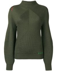 Carven - Structured Knit Sweater - Lyst