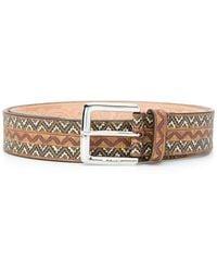 Etro - Pin Buckle Belt - Lyst