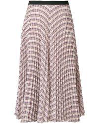 Derek Lam - Geometric Pleated Skirt - Lyst