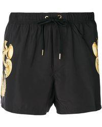 Versace - Shorts con stampa barocca - Lyst