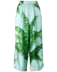 F.R.S For Restless Sleepers - Palm Leaf Print Pyjama Trousers - Lyst