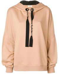 Dorothee Schumacher - Beaded Ribbon Hoodie - Lyst