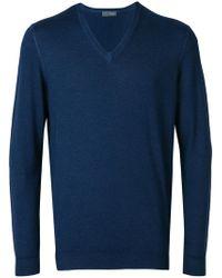 Drumohr - V-neck Pullover - Lyst