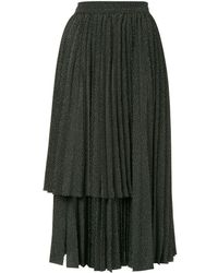 Dalood - Layered Panel Skirt - Lyst