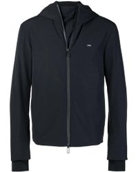Emporio Armani - Hooded Jacket - Lyst
