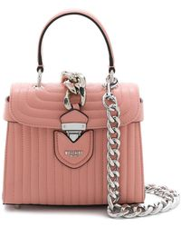 Moschino - Quilted Shoulder Bag - Lyst