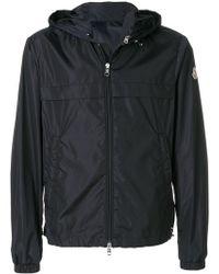 Moncler   Logo Zipped Jacket   Lyst