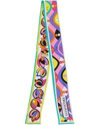 signature print tie-scarf - Multicolour Emilio Pucci uKphS