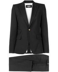 DSquared² Классическая Рубашка Строгого Кроя - Черный