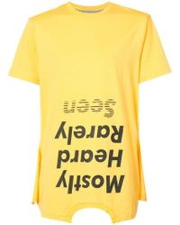 Mostly Heard Rarely Seen - 'Should Be Higher' T-Shirt - Lyst