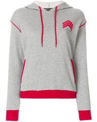 Perfect Moment - Chevron Hooded Sweatshirt - Lyst