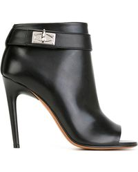 Givenchy - 'ryka' Shark Tooth Open Toe Bootie (women) - Lyst