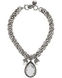Alexander McQueen - Jewelled Necklace - Lyst
