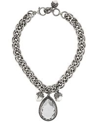 Alexander McQueen - Jewelled Necklace - Lyst