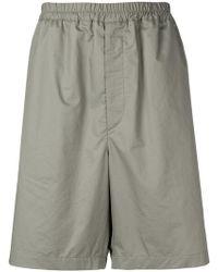 Jil Sander - Elasticated Waist Shorts - Lyst