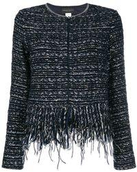 Fabiana Filippi - Woven Zipped Jacket - Lyst