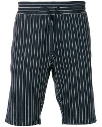 CALVIN KLEIN 205W39NYC - Pinstripe Jacquard Shorts - Lyst