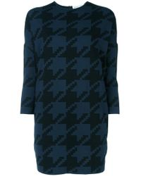 Gianluca Capannolo | Houndstooth Pattern Pullover | Lyst
