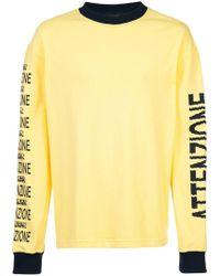 BETHANY WILLIAMS - 'Attenzione' Sweatshirt - Lyst
