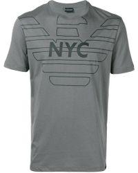 Emporio Armani - Nyc T-shirt - Lyst