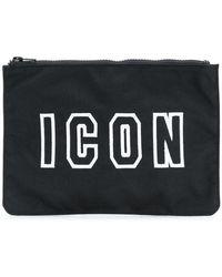 DSquared² - Icon Logo Wash Bag - Lyst