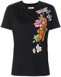 Ash - Embroidered T-shirt - Lyst