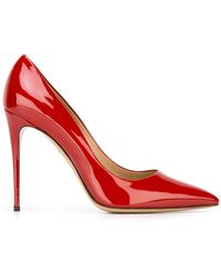 Ferragamo - Fiore Leather Court Shoes - Lyst