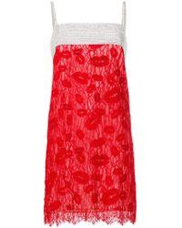 Nina Ricci - Crystal Lace Slip Dress - Lyst
